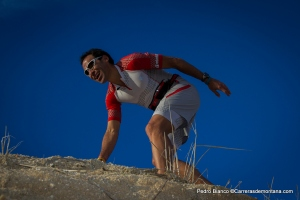 Salomon Running Pedro bianco con  riñonera Slab  (7)