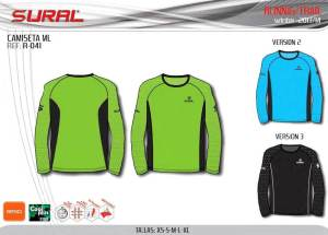 Sural trail running: Camiseta manga larga