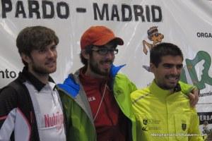 Trail del Serrucho 2014. Podio Masculino.