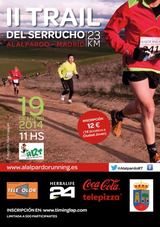 Trail Serrucho 2014 cartel