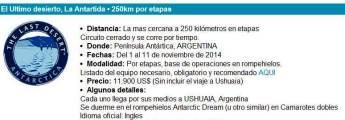 Ultra trail 4deserts la antartida 2014 chema martinez