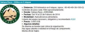 Ultra trail 4deserts sahara race 2014 chema martinez