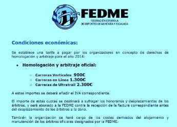 """FEDME emplando """"UltraTrail"""" en documentos oficiales."""