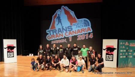 Transgrancanaria 2014: Corredores referencia Spain Ultra Cup.