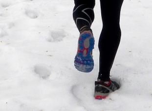 Zapatillas NB MT860 BB4: Rodajes preliminares sobre nieve