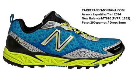 Zapatillas trail NB MT910 por Carrerasdemontana.com