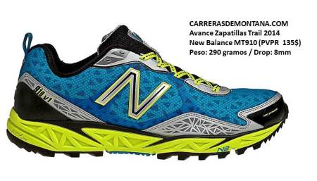 Zapatillas trail NB MT910 por Carrerasdemontana.com