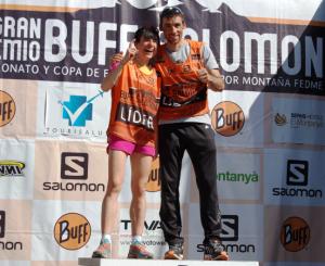 Carreras montaña fedme 2014: Luis Alberto Hernando y Maite Mairoa ganan en vall congost foto: organización