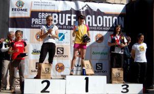 carreras montaña fedme 2014 nuria picas y maite maiora en vall congost. foto organización