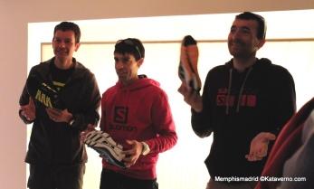 Jonathan Wyatt, Tófol Castanyer y Miguel Heras presentan Citytrail en BCN.
