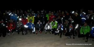 Entrenamiento ultra trail: 53 geteperos compartieron la madrugada de ayer.