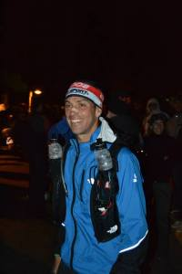 Yeray en la salida de la Transgrancanaria. Foto: Migue MG.