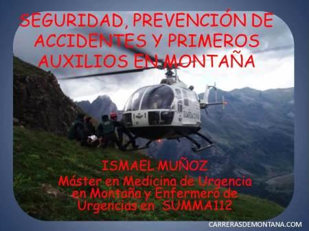 Seguridad en montaña por Isma Muñoz