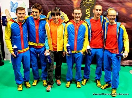 La Sportiva: Equipo trail running 2014