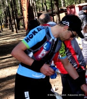 Mochila trail running ultimate direction. Julien Chorier 2º en transgrancanaria 2014