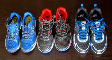 Zapatillas trail New balance 2014: NB MT810, NB MT910 y NB MT860. Foto: Mayayo