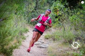 djanina freytag haglofs 1ª en Ultra trail montsant