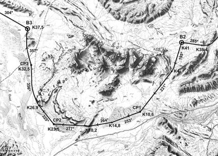Marathon des Sables 2014 etapa 3 38km