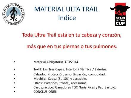 Material Ulta trail charla mayayo para gran trail peñalara 2014