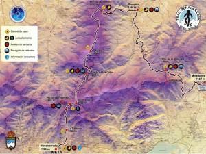 Trail Running Madrid: Mapa carrera TP60k 2014.