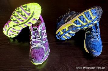 Zapatillas New balance Trail MT810 BR3. Hombre/Mujer. Fotos mayayo