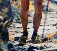 La Sportiva Bushido completando el descenso a Tazacorte. Foto: Remitida Alvaro Rodríguez.