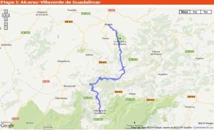 Quixote Legend 2014 Mapa etapa1 30may14 (2)