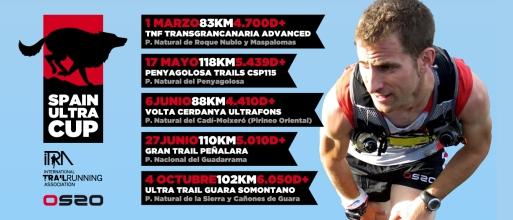 Spain Ultra Cup Calendario Carreras 2014