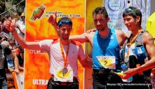 Transvulcania 2014: 1º Luis Alberto Hernando 2º Kilian Jornet 3º Sage Canaday.