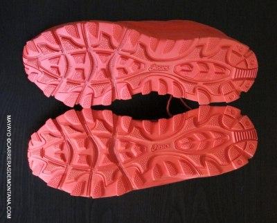 Haglofs gram gravel zapatillas. detalle suela foto mayayo