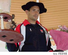 El desaparecido Fernando García Herreros, campeón del 2003. Foto: FEDME.