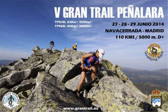 CARTEL 2014 Gran trail peñalara