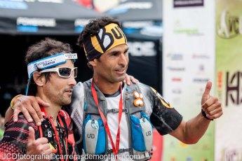 Toti Bes y Gerard Morales, 1º y 2º en meta VCUF.