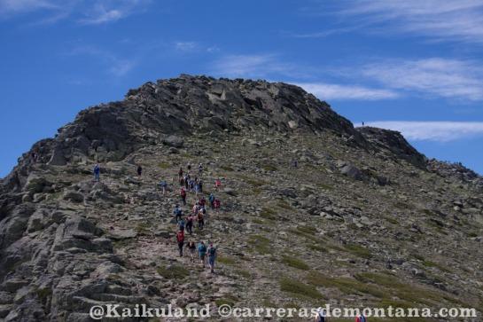 Las cimas de Claveles y Peñalara, paso obligado del GTP110k, TP80k t TP60k