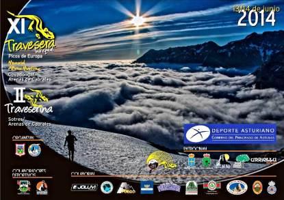 Travesera Picos Europa 2014. Cartel