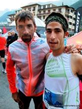 Luis alberto hernando adidas trail con Pablo Villa en Matterhorn 2013