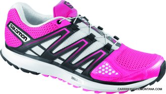 zapatillas salomon city trail X Scream Pink Women