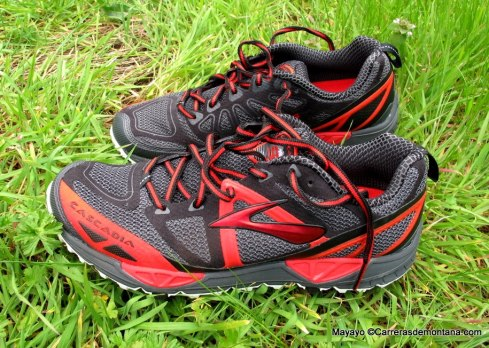 Brooks cascadia 9 (140€/330gr/Drop10) Zapatillas trail running polivalentes.