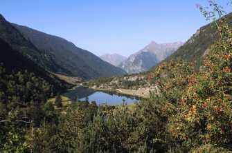 El Parque Nacional Aigües Tortes, protagonista de la carrera.