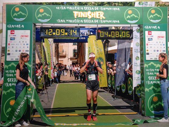 Equipo Sural: Casey Morgan 2º en Ultra trail Mallorca 107k 2014.