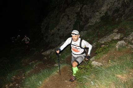 Gran Trail Aneto 2014 fotos De noche, hacia el refugio de La Renclusa