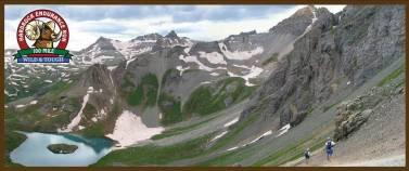 Hard Rock 100 MIles paisajes de altura en las Rocosas, Colorado