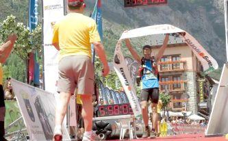 Gran Trail Aneto 2014 fotos Diego Gómez, Ganador vuelta al aneto