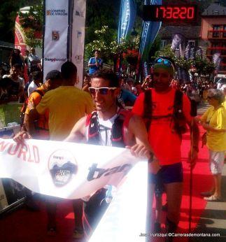 Dani Amat Asencio, campéon Gran Trail Aneto 2014