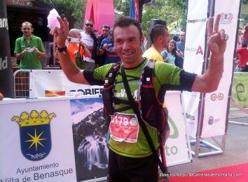 Gran Trail Aneto 2014 Rafa Martín, 2º