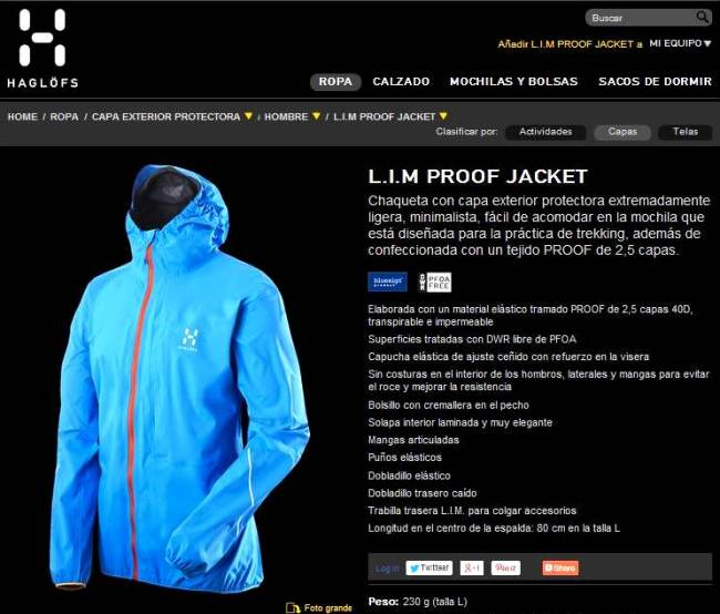 Haglofs Lim proof Jacket