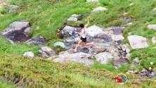 Kilian Jornet en Giir di Mont 2014. Foto: SportdiMontagna.com