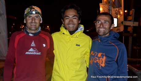 mont blanc ultra trail montagnhard 100k 2014 podio final
