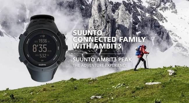 Suunto Ambit3 Peak: El tope de gama por prestaciones para montaña