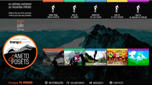 Trail Aneto 2014 logo